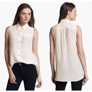 Marc by Marc Jacobs- Erin Silk Top -Size 2